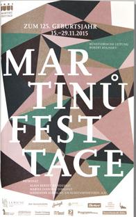 Basilej: Festival Martinů Festtage