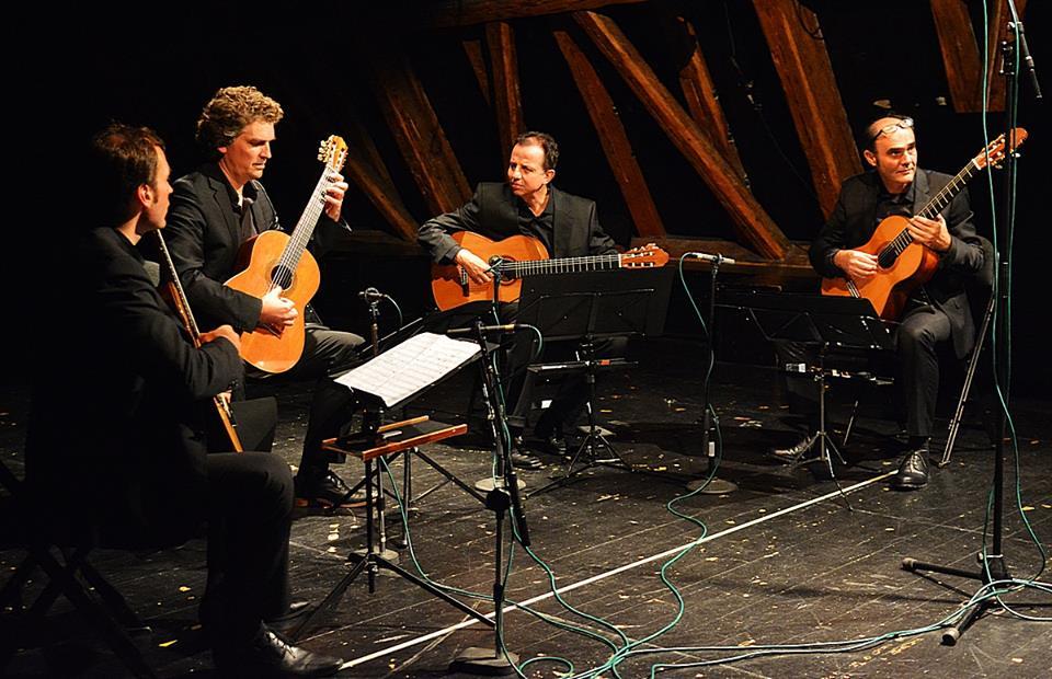 """František Chaloupka: Kytarový kvartet č.1 """"The Aleph"""" (světová premiéra)"""
