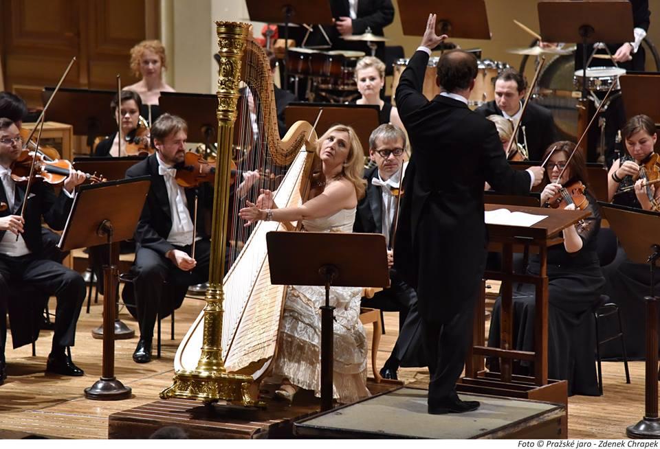Lukáš Sommer: Koncert pro harfu aorchestr (česká premiéra)