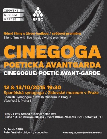 Cinegoga – experimentální němé filmy sživou hudbou ve světových premiérách
