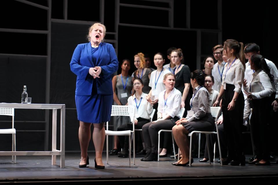 Britská premiéra scénického nastudování Smetanovy Libuše