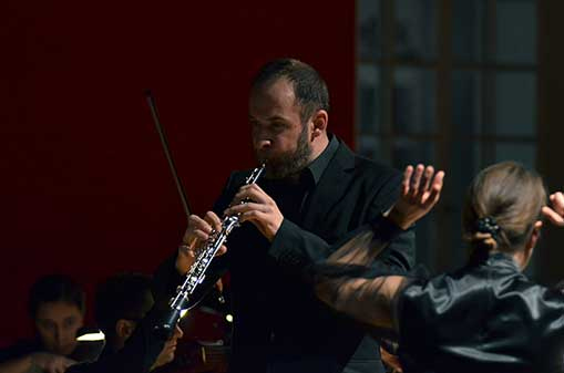 Ondřej Kyas: Komorní symfonie č.2 pro hoboj, klavír, perkuse asmyčce (světová premiéra)