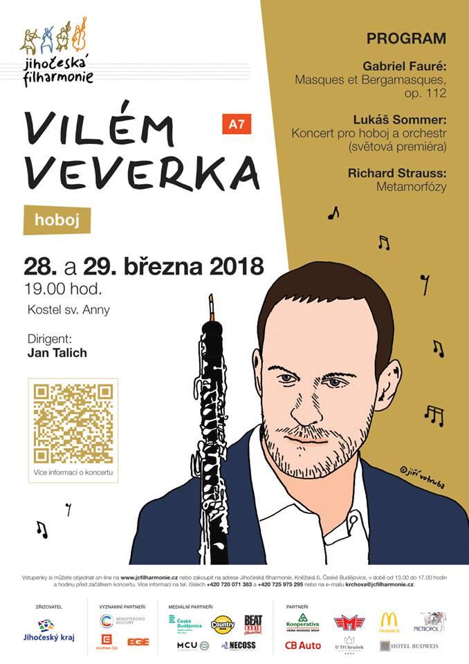 Lukáš Sommer: Koncert pro hoboj aorchestr (světová premiéra)