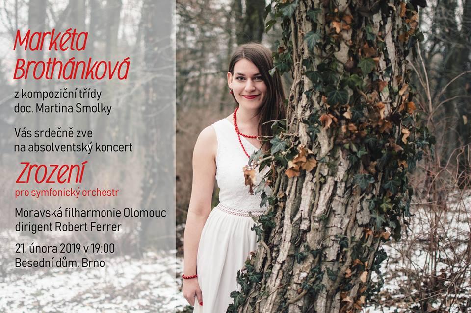 Markéta Brothánková: Zrození (world premiere)