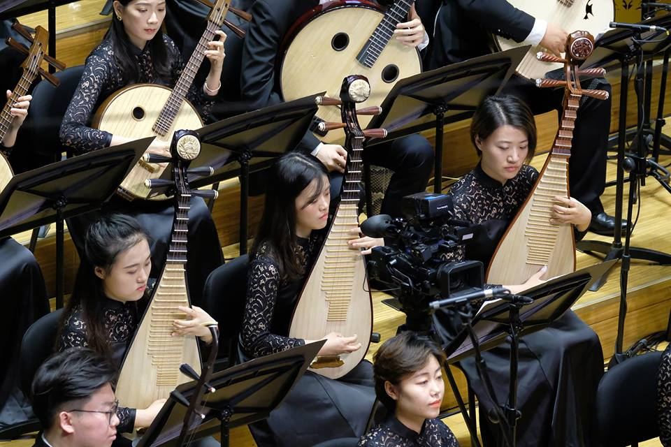 Jiří Kadeřábek: Remote Heart II for traditional Chinese instruments orchestra (world premiere)