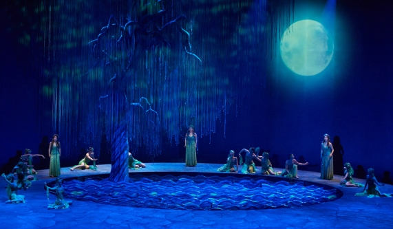 The national premiere of Rusalka in South Korea