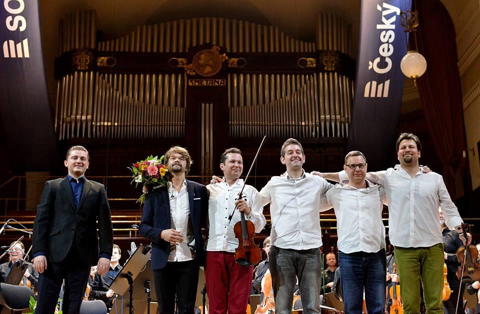 Prague Radio Symphony Orchestra: premieres of the pieces by Martin Kumžák, Petr Wajsar and Jan Kučera