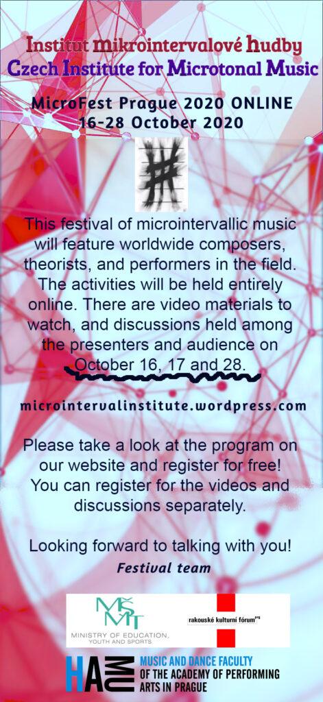 MicroFest – Mezinárodní konference akoncert HAMU