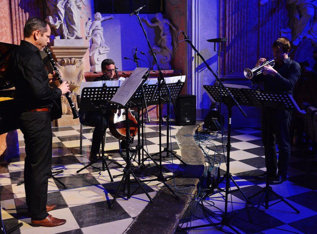 MusicOlomouc: premieres of works by Marek Keprt and Pavel Zlámal
