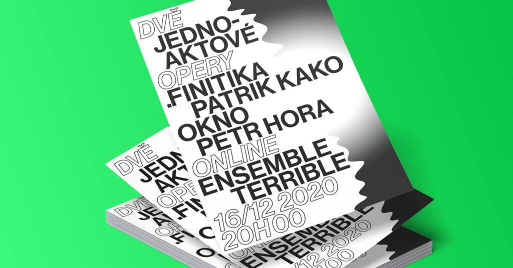 .finitika + AWindow. Opera debuts by Patrik Kako and Petr Hora